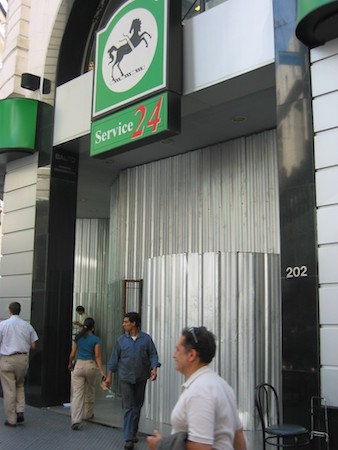 Buenos Aires, microcentro, San Nicolás, corralito, banco