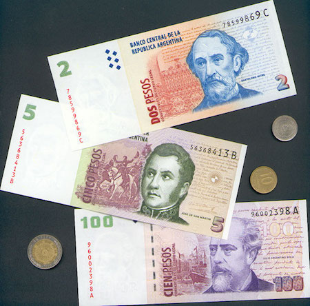 Argentina, currency, peso