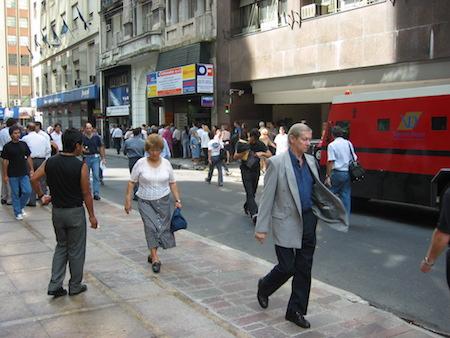 Argentina, Buenos Aires, La City, microcentro, exchange