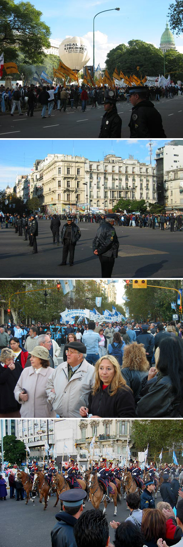 Argentina, president, inauguration, 2003, Kirchner