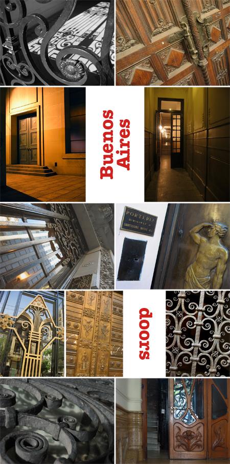 Buenos Aires, Argentina, doors, puertas