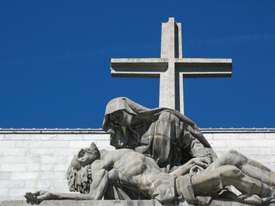 Spain, España, Valle de los Caídos, Juan de Ávalos, Pietà