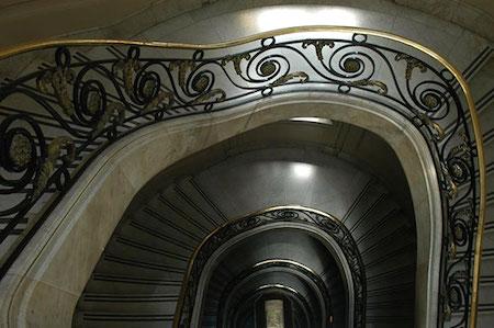 Alejandro Christophersen, Bolsa, Buenos Aires, staircase, escalera