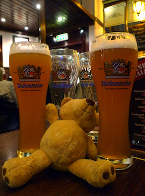 Ursula, Glasgow, pub, beer, Weihenstephan
