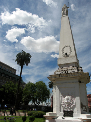 Endless Mile, Buenos Aires, Plaza de Mayo