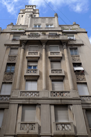 Endless Mile, Buenos Aires, Once, architecture