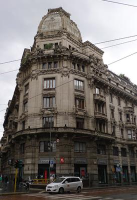Milan, Milano, architecture, Beaux-Arts
