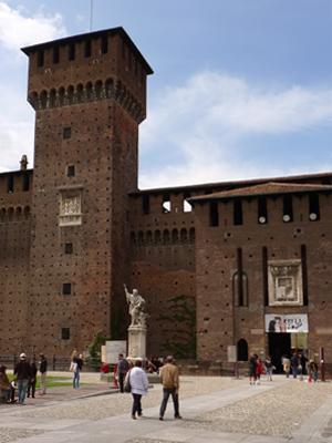 Milan, Milano, Castello Sforza