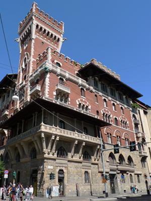 Milan, Milano, Palazzo Viviani Cova, Adolfo Coppedè