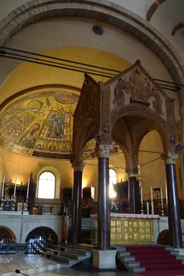 Milan, Milano, Basilica di Sant'Ambrogio