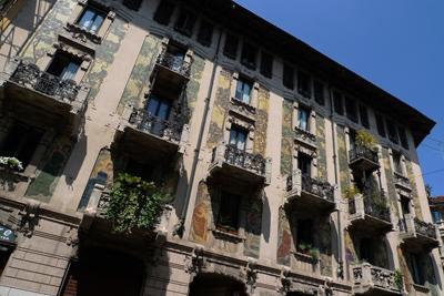 Milan, Milano, Casa Galimberti, Giovanni Battista BossiMilan, Milano, Casa Galimberti