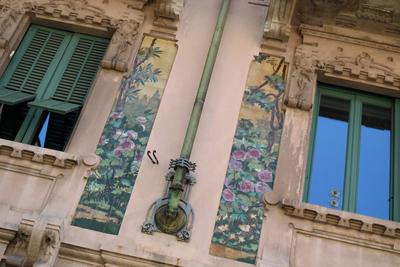 Milan, Milano, Casa Galimberti, Giovanni Battista Bossi
