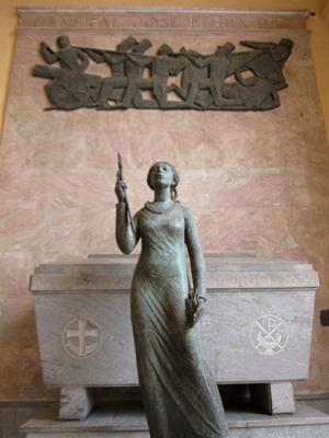 Argentina, Córdoba, Catedral, tumba General Paz