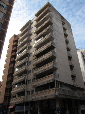 Argentina, Córdoba, scary high-rise