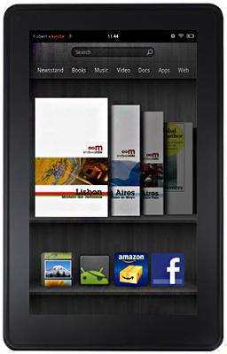Kindle Fire, Endless Mile, screen capture