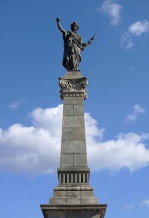 Bulgaria, Rousse, Zocchi, monument