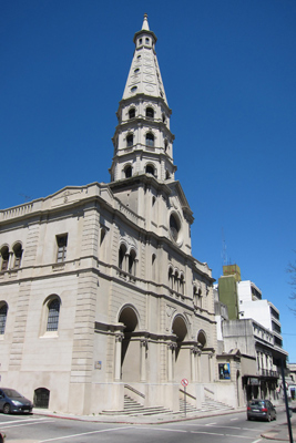 Montevideo, Ciudad Vieja, Iglesia de San Francisco de Asis