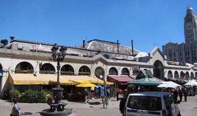 Montevideo, Ciudad Vieja, Mercado del Puerto