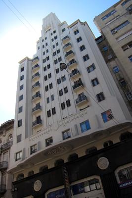 Montevideo, Avenida 18 de Julio, Palacio Díaz, Art Deco