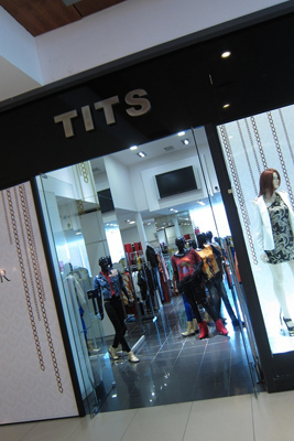 Montevideo Shopping, Tits