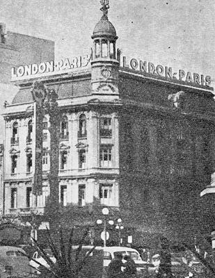 Montevideo, Avenida 18 de Julio, Plaza Fabini, Edificio London-Paris