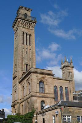 Scotland, Glasgow, Kelvingrove, Trinity College