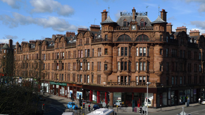 Scotland, Glasgow, St. George's mansions