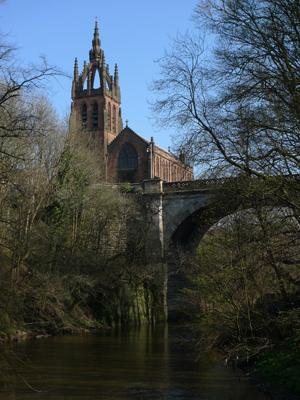 Scotland, Glasgow, Kelvin Walkway
