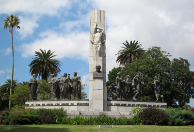 Uruguay, Montevideo, Parque Rodó, José Belloni