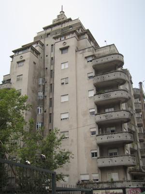 Uruguay, Montevideo, Edificio El Mastil