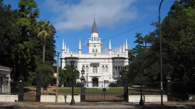 Uruguay, Montevideo, Casa quinta Aurelio Berro