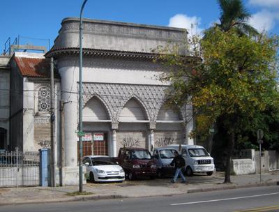 Uruguay, Montevideo, El Prado, Cine Alcázar
