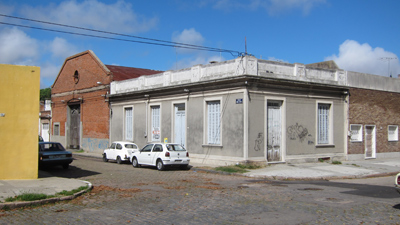 Uruguay, Montevideo, El Prado, barrio popular