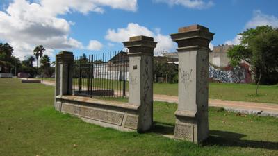 Uruguay, Montevideo, El Prado, church ruins