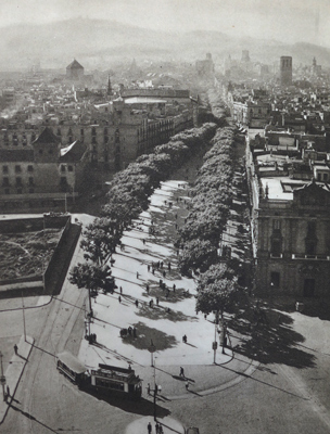 Catalunya, Barcelona, Ramblas, 1951