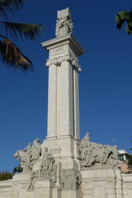 España, Spain, Cádiz, Plaza de España