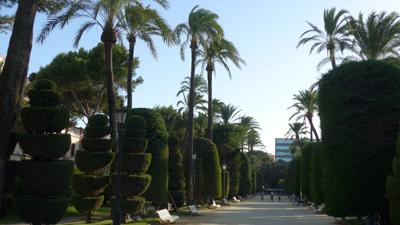 España, Spain, Cádiz, Parque Genovés