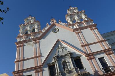España, Spain, Cádiz, Baroque, Iglesia del Carmen