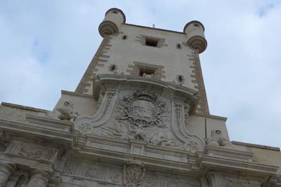 España, Spain, Cádiz, Puerta de Tierra