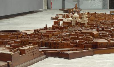 España, Spain, Cádiz, maqueta, Museo de las Cortes de Cádiz