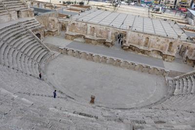 Jordan, Amman, Roman theater