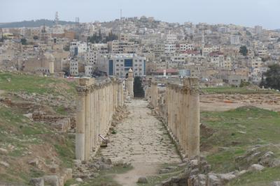 Jordan, Jerash, Roman ruins
