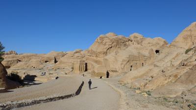 Jordan, Petra, necropolis