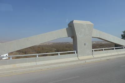 Jordan/Israel, King Hussein Bridge, Allenby Bridge