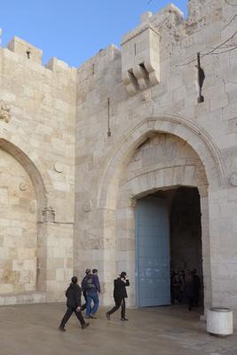 Israel, Jerusalem, Jaffa Gate