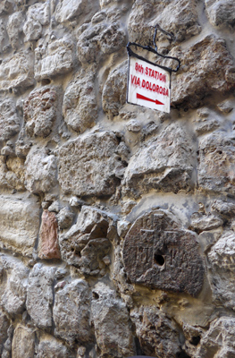 Israel, Jerusalem, Christian Quarter, Via Dolorosa