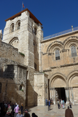 Israel, Jerusalem, Christian Quarter, Church of the Holy Sepulchre