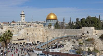 Jerusalem, Israel, Jewish Quarter, Western Wall, Temple Mount