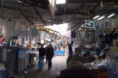 Israel, Tel Aviv, Carmela Market