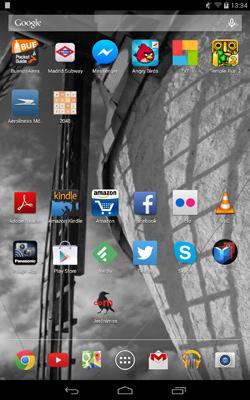 Endless Mile, Android app design progress